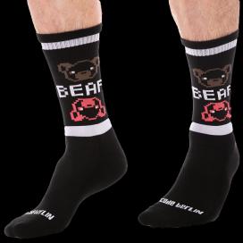 Barcode Berlin Chaussettes BIG BEAR Noires