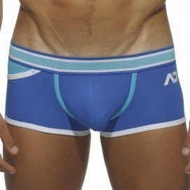 Pocket Mesh Boxer Bleu