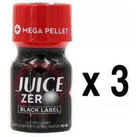 Poppers JUICE ZERO Black Label 10mL x3