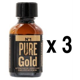 Poppers PURE GOLD 24mL x3