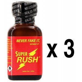 Poppers SUPER RUSH 24mL x3