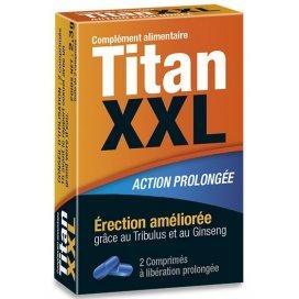 Titan XXL Stimulant Action Prolongée 2 gélules