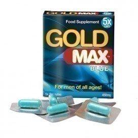 Gold Max: stimulant sexuel homme Gold Max Blue 5 gélules