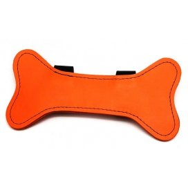 Os en cuir Puppy Orange