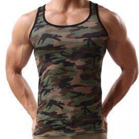 Débardeur Camouflage