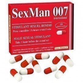Vital Perfect Stimulant SexMan 007 10 gélules
