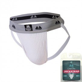 MM Edition Jockstrap Jockstrap Original Waist 2 Band Blanc