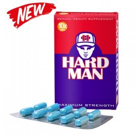 Stimulant sexuel Hard Man 10 gélules