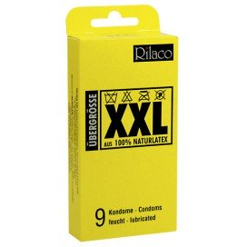 Préservatifs XXL Grande taille x9