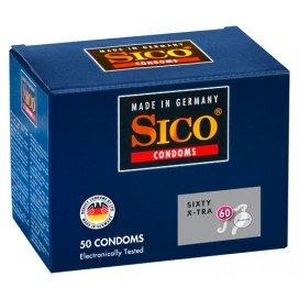 Sico Préservatifs Fins Sico x50 60mm