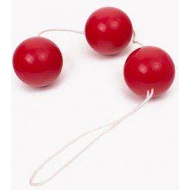 Triple Boules de Geisha Rouge 3.5 cm