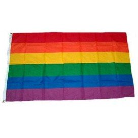 Pride Items Drapeau Rainbow 60 x 90 cm