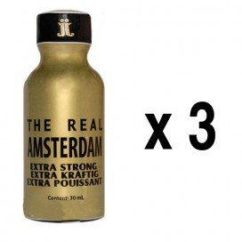 Push Poppers Real Amsterdam 30mL x3