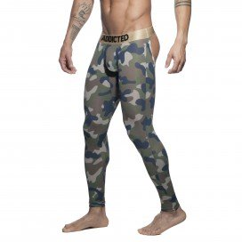Addicted LongJohn Bottomless CAMO Army