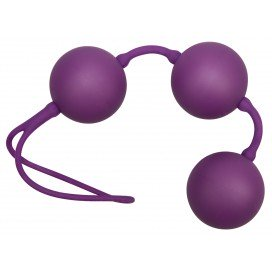 You2Toys Boules de Geisha Velvet violettes - 3.5 cm
