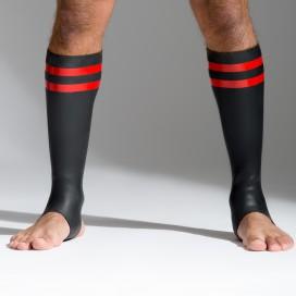 665 Socks en néoprène avec Bandes rouges