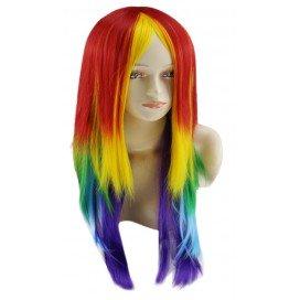 Perruque Rainbow 70cm