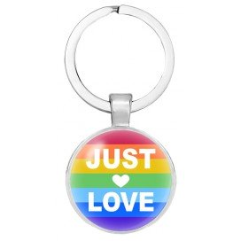 Porte-Clé Just Love Rainbow