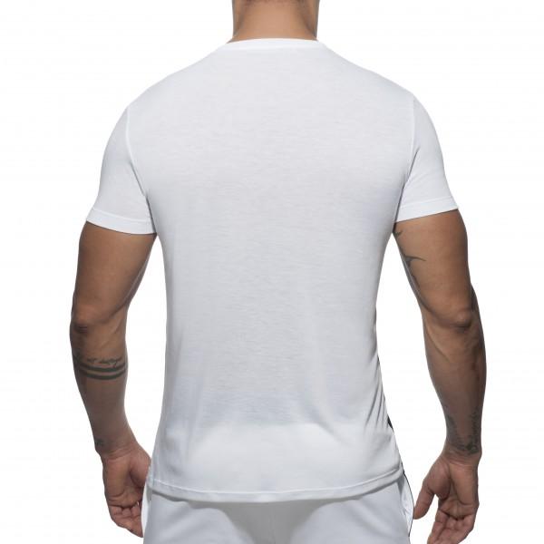 T-shirt RAINBOW Blanc-Noir
