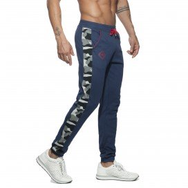 Addicted Jogging Sport Camo Bleu marine