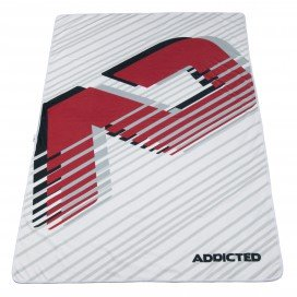 Addicted Serviette de plage AD Blanc