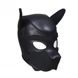 FUKR Neoprene Puppy Hoods BLACK