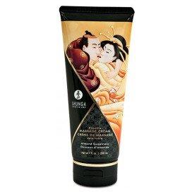 Shunga Crème de massage Comestible Douceur d'AMANDE - 200ml