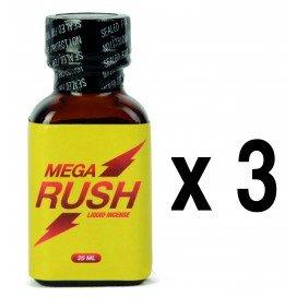 Rush Poppers Mega Rush 25ml x3