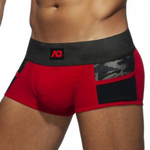 Addicted Boxer Army Combi Rouge