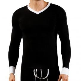 Wang Jiang T-shirt Thermo Modal Noir