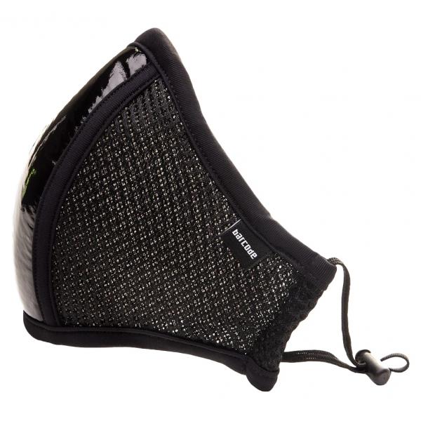 Masque Filtrant D12 LIEUTENANT SKYLE Noir brillant