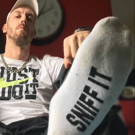Chaussettes blanches SNIFF IT