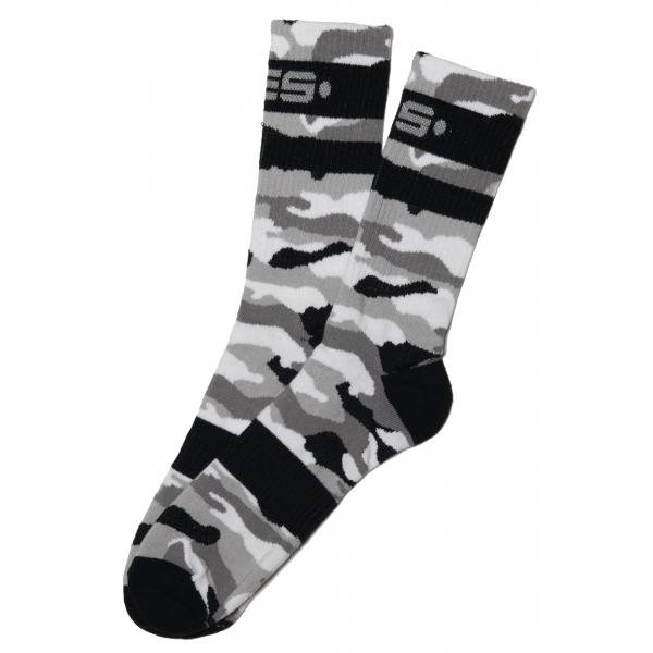 Chaussettes CAMO SOCKS Camouflage Gris