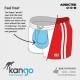 Short Kangoo Blue