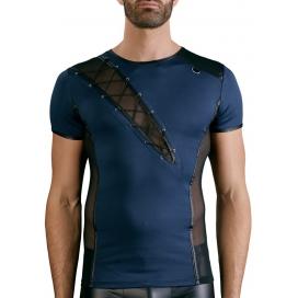 NEK T-shirt JASON Bleu-Noir