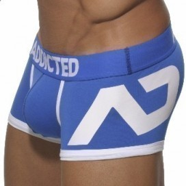 Boxer Disco Push Up Bleu Royal