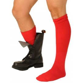 Chaussettes BOOT SOCKS Rouges