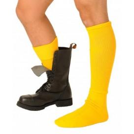 Chaussettes BOOT SOCKS jaunes