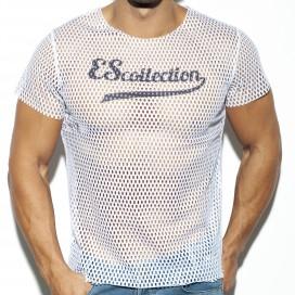 T-shirt OPEN MESH Blanc